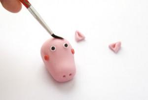 Животные из мастики – Свинка Пеппа-шаг 16