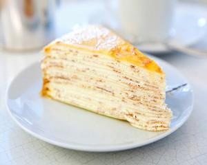 Блинный торт с кремом из маскарпоне