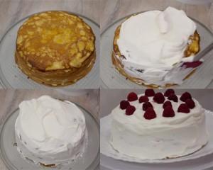 Блинный торт с кремом из маскарпоне-шаг 1