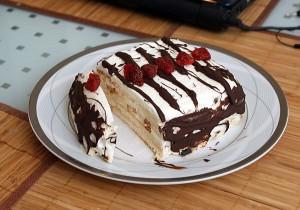 Медовый торт Полено