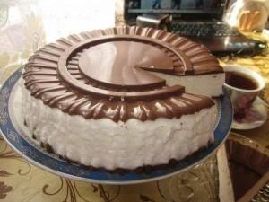 Простой рецепт торта Птичье молоко
