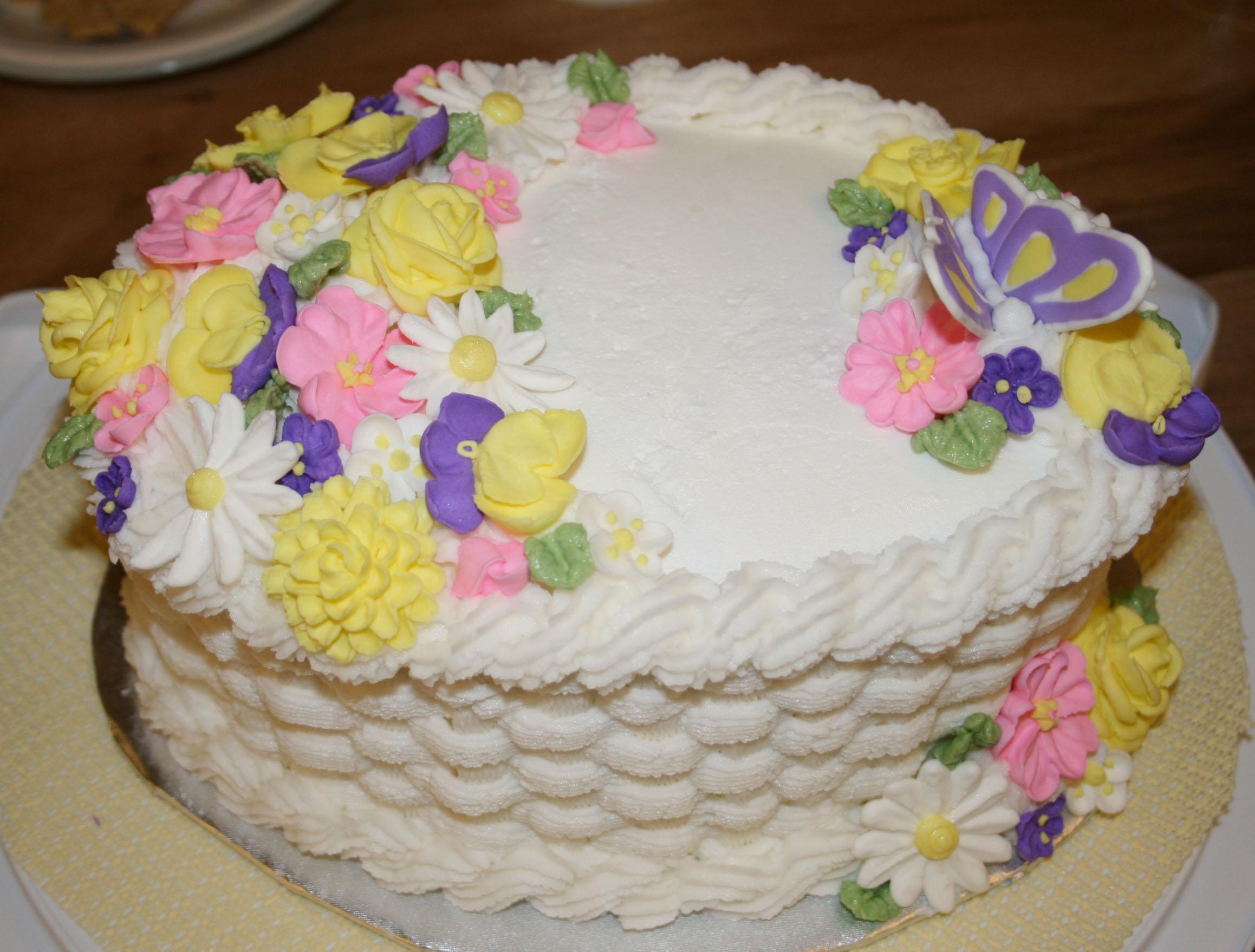 видео занимают белковый крем цветы украшение торт фото термостойкости прочности