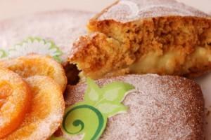 Лимонный бисквитный торт-шаг 1