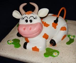 Фигурки из мастики – корова. Видео-урок-шаг 2