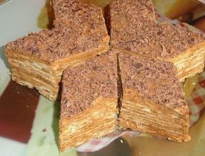 Торт со сгущенкой Микадо – вкуснейшая сладость армянской кухни-шаг 1