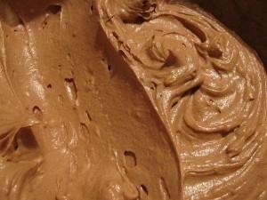Сливочный крем с кокосом и шоколадом
