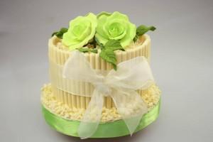 Как украсить торт – продолжаем учиться, новые идеи-шаг 5
