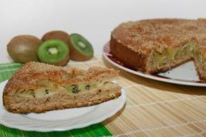 Фруктовый торт с киви