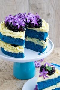 Как украсить торт кремом в домашних условиях. Яркий торт сделать проще простого!-шаг 3