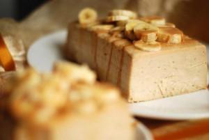 Творожный торт с бананами без основы