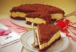 Творожный торт Торфяной