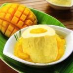 Сливочный крем-мусс с манго-шаг 1
