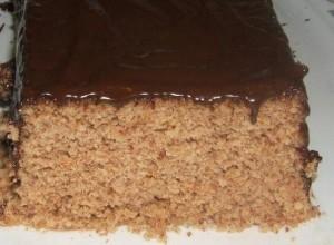 Простой ореховый тот. Торт из печенья