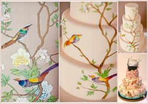 Как сделать роспись на торте. Видео-шаг 1