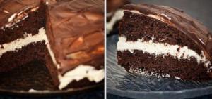 Творожно-шоколадный торт – рецепт приготовления