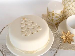 Новогодний торт – как украсить. Много интересных идей!-шаг 3