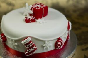 Новогодний торт – как украсить. Много интересных идей!-шаг 4