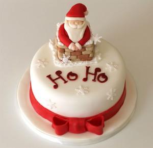 Новогодний торт – как украсить. Много интересных идей!-шаг 6
