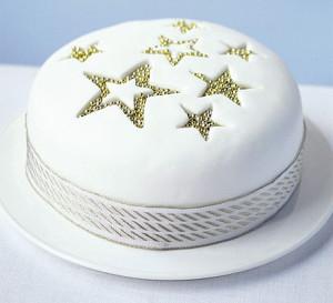 Новогодний торт – как украсить. Много интересных идей!-шаг 10