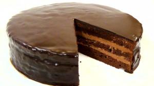 Шоколадный крем со сгущенкой для торта Прага