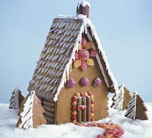 Новогодний десерт - пряничный домик-шаг 1