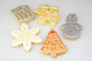 Новогодние десерты – как украсить. Три идеи-шаг 4