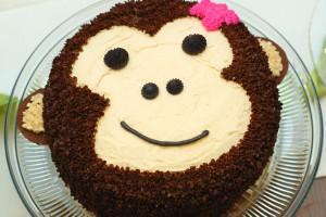 Торт Обезьяна. Торт на Новый год Обезьяны - видео