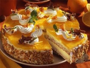 Апельсиновый масляный крем
