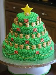 Новогодний торт Елочка. Видео по украшению десерта-шаг 1