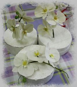 Цветы из мастики. Как сделать орхидею из мастики – видео-шаг 1