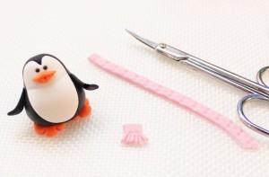 Пингвин из мастики – мастер-класс-шаг 4