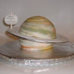 Торт Космос – фантазийное украшение десерта!-шаг 1