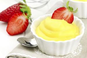 Заварной крем молочно-лимонный