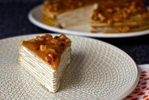 Ореховая глазурь для торта