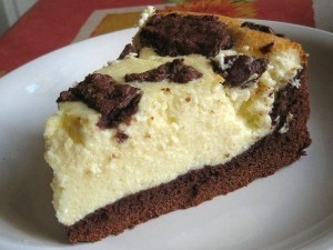 Творожно-шоколадный торт Буренка