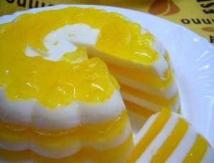 Желейный торт Апельсиновый рай