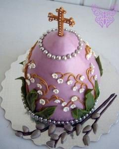 Как украсить пасхальный торт – три замечательные идеи-шаг 1