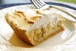 Творожный торт с бананами и йогуртом. Торт без муки