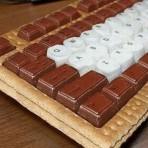 Торт из мастики - видео. Оригинальный торт Клавиатура!-шаг 1