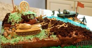Торт на 9 мая. Как украсить торт ко дню Победы?