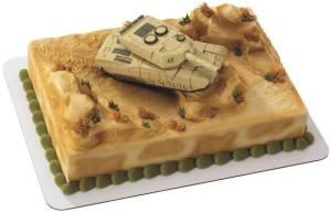 Торт на 9 мая. Как украсить торт ко дню Победы?-шаг 1