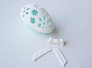 Пасхальные украшения – яйцо из мастики. Мастер-класс-шаг 8