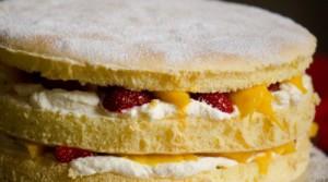 Простая пропитка для торта с кефиром