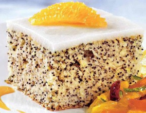 Маковый торт без муки легкого приготовления