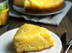Вкусный, простой ананасовый торт