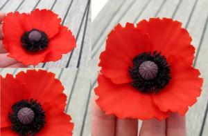 Цветы из мастики. Как сделать маки из мастики – видео-шаг 1