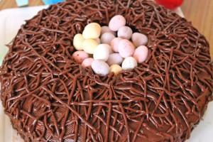 Красивый торт Гнездо простого приготовления! Мастер-класс-шаг 5