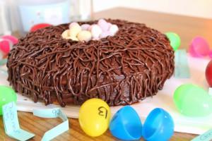 Красивый торт Гнездо простого приготовления! Мастер-класс-шаг 6