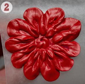 Айсинг – украшения. Как сделать цветы из айсинга?-шаг 2