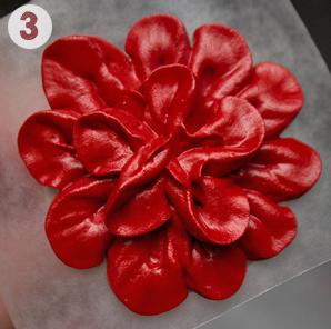 Айсинг – украшения. Как сделать цветы из айсинга?-шаг 3